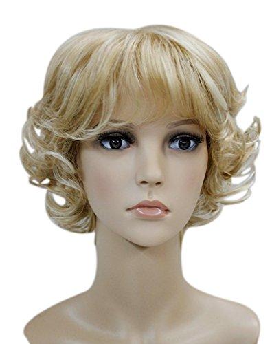 Golden Blonde Hair Wig - 2