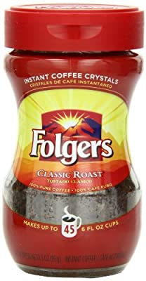 Folgers Regular Instant
