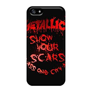 Series Skin Cases Covers For Iphone 5/5s(metallica)