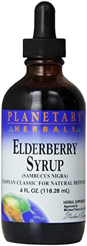 Planetary Herbals Elderberry Syrup, 4 Fluid Ounce