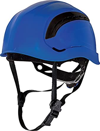 Delta plus - Casco obra granite wind ajustable azul fluo: Amazon.es: Amazon.es