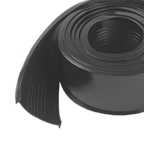 (M-D Building Products 8462 Steel Garage Door Replacement Vinyl, 18 Feet, Black)