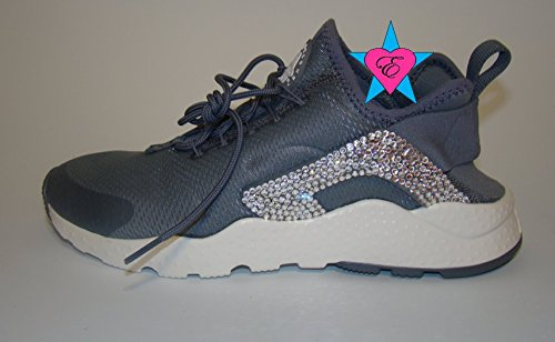 Crystal Glitter Nike Air Huarache Run Ultra by Eshays