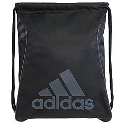 Adidas Burst Sackpack, Blackonix, 18 X 14.25-inch