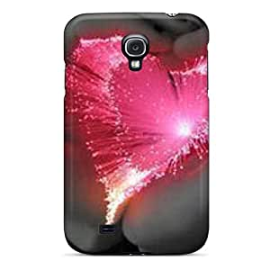 High Quality Mobile Covers For Samsung Galaxy S4 With Unique Design High Resolution Pink Heart Pictures JamieBratt