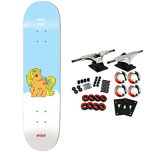 (Enjoi Skateboard Complete Rojo My Little Pony 7.75