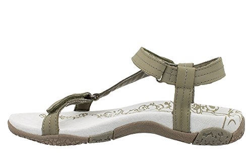 nubuck Beige Shoes Femme TS078 Sandales en T Almeria 8xXnHvax7