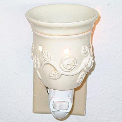 Plug-In Tart Burner - New Rose