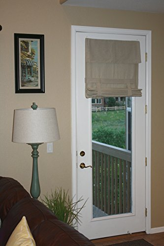 EXTRA LONG Tan French Door Curtain 1 Panel