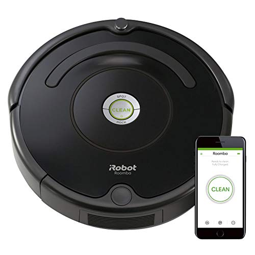 iRobot Roomba 671 Robot Vacuum with Wi-Fi Connectivity, Works with Alexa, Good for Pet Hair, Carpets, and Hard Floors ()