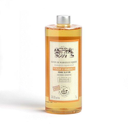 Savon Liquide de Marseille 1L Orange Blossom