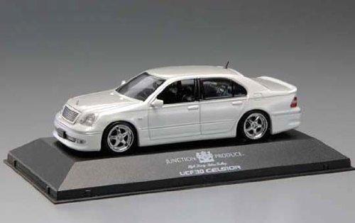 1/43 ジャンクション30セルシオ(ホワイト) 「ダイキャストVIPカーシリーズ No.1」 0072639