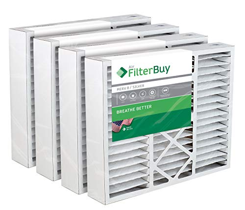- FilterBuy 20x26x5 White Rodgers, Electro-Air Replacement AC Furnace Air Filters - AFB Silver MERV 8 - Pack of 4 Filters. Designed to replace F825-0338 / F8110319.