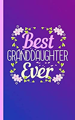 Best Granddaughter Ever Keepsake Journal - Notebook: Grandchild Draw, Sketch, and Write Half Lined Half Blank Page Story Note Book (Writing Drawing Kid Gifts Vol 11)