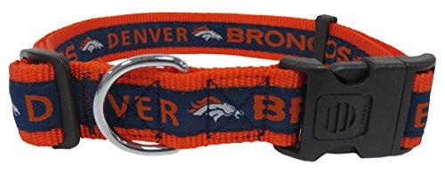 Pets First Nfl Denver Broncos Dog Collar, X-Large