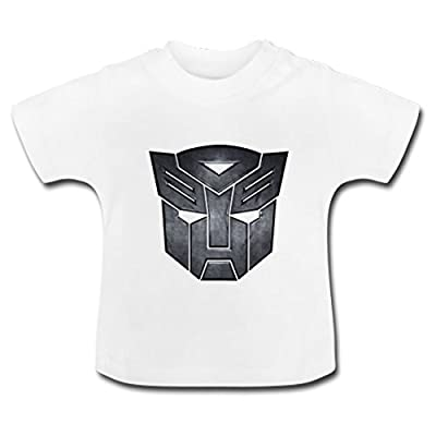LARger Transformers_logo Baby Classic T-Shirt
