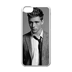 Christopher iPhone 5c Cell Phone Case White LMS3827399