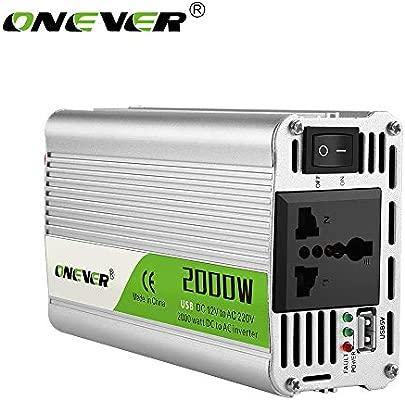 2000W de energía del coche del inversor del convertidor DC 12V a ...