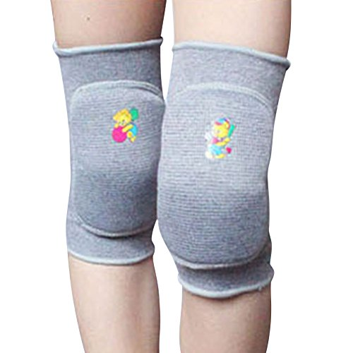 Jlong Child Kids Boy Girl Knee Pad Dance Training Games Cotton Sports Knee Pad