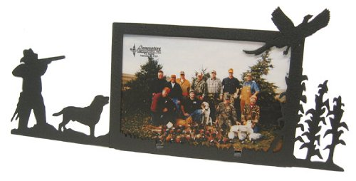 Labrador & Pheasant 4X6 Horizontal Picture Frame by Innovative Fabricators, Inc.