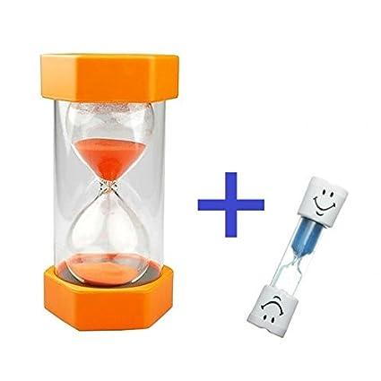 83d9a20e50 Amazon.com  Safe   Simple 5 Minute Sand Timer + Bonus BLUE 2 Minute ...
