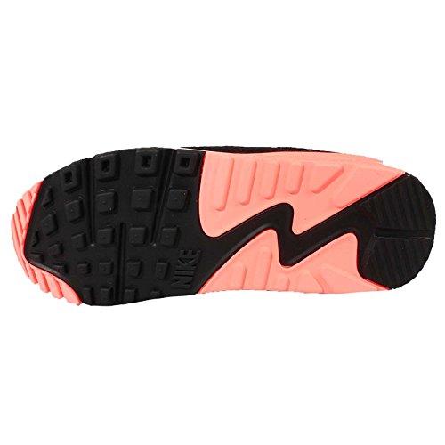 Nike Womens Wmns Air Max 90 Essential, Grigio Scuro / Tramonto Glow-black-pr Pltm, 5 Us