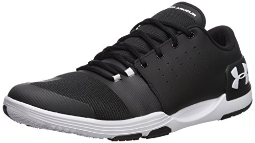 Under Armour Men's Limitless 3 Sneaker, Black (001)/White, 7