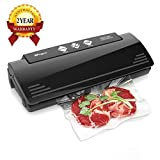 XProject Vacuum Sealer Machine Multifunction Automatic Sealing System with 10 Sealing Bags, Multi-Use Vacuum Sealing Packing System, Dry & Moist Mode for Food Savers & Sous Vide