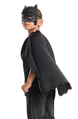 Rubie's Dawn Of Justice Child Batman Cape and Mask Set