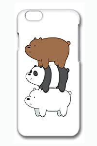 iPhone 6 plus Case, iPhone 6 plus Cases - Stylish 3D Print Hard Case Bumper for iPhone 6 We Bare Bears Stack Perfect Fit Case Cover for iPhone 6 plus 5.5 Inches