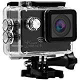 4K Sport Action Camera Remote Control 2 Ultra HD 1080P WiFi 16MP Video Recorder Waterproof DV with Micro SD