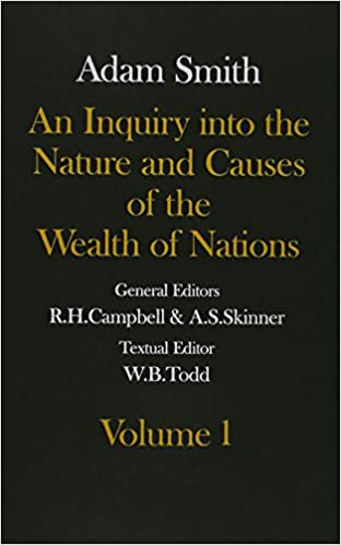 Image result for R. H. Campbell The wealth of nations