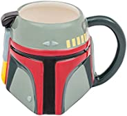 Vandor Star Wars Boba Fett 20 Ounce Ceramic Sculpted Mug