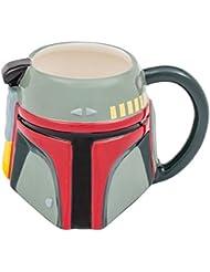 Vandor Star Wars Boba Fett 20 Ounce Ceramic Sculpted Mug (99301)