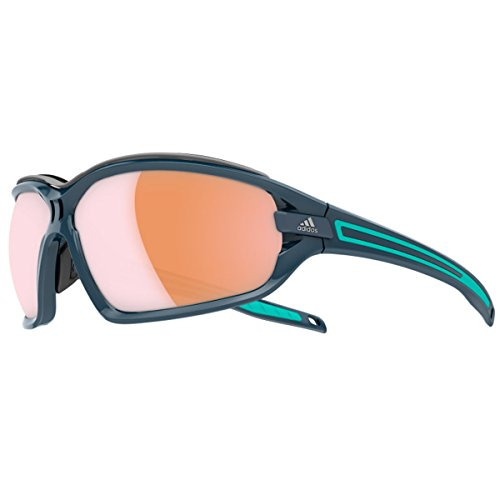 Adidas Sport Evil Eye Evo Pro Sunglasses - Blue Shiny/Mint/LST - Sunglasses Evo