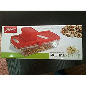 Apex Plastic Multiple Slicer, Red