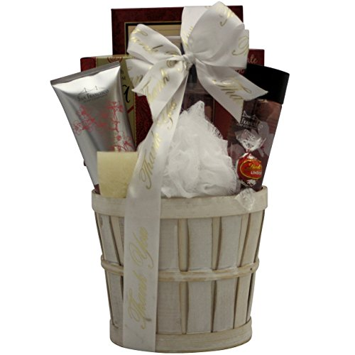 GreatArrivals Gift Baskets Cherry Blossom Spa Retreat Bath and Body, Thank You Gift Basket, 3 Pound