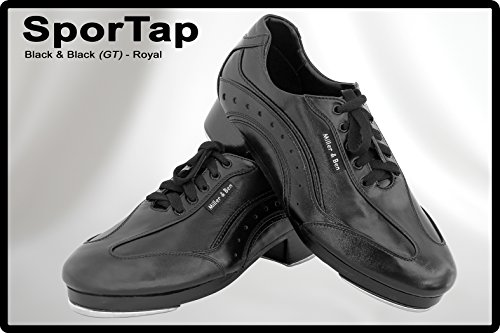 Miller & Ben Tap Zapatos Sportap; Negro Y Negro (gt) - Royal - Tamaños Estándar