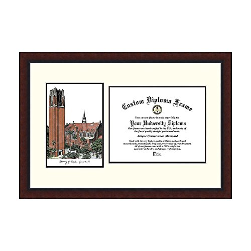 Campus Images NCAA University of Florida The Tower Legacy Scholar Frame