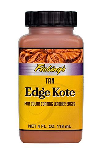 Fiebing's Edge Kote Edge Finisher 4 oz Bottle (Tan)