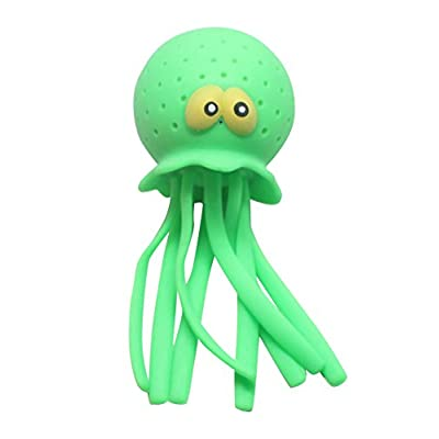Curious Minds Busy Bags Large Jellyfish Octopus Stress Ball - Sensory Fidget Office or Classroom - OT Autism SPD: Toys & Games
