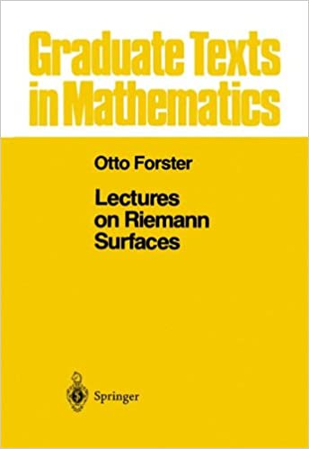 Lectures on Riemann Surfaces (Graduate Texts in Mathematics)