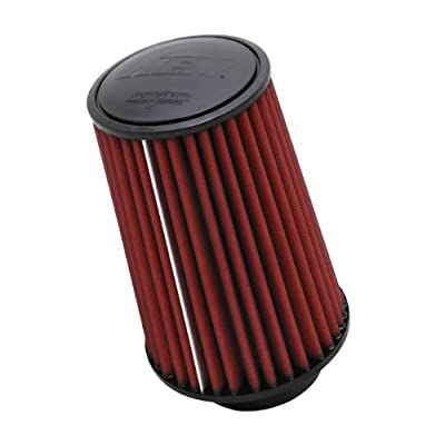 AEM 21-3059DK Universal DryFlow Clamp-On Air Filter: Round Tapered; 4 in (102 mm) Flange ID; 9.25 in (235 mm) Height; 6.5 in (165 mm) Base; 5.125 in (130 mm) Top: Automotive