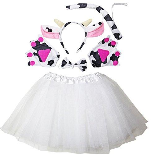 Kirei Sui Dairy Cow Costume Set White