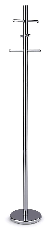 fumer Appendiabiti da Terra Ø34x175 cm in Metallo Pegaso Cromato