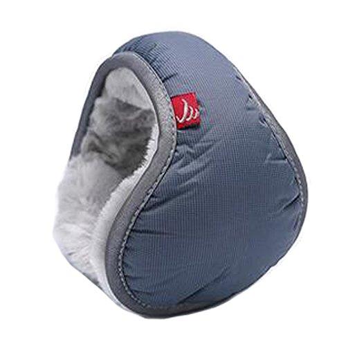 Super Soft Couples Warm Earmuffs Winter Earmuffs Folding Ear Warmers, Grey by Kylin Express