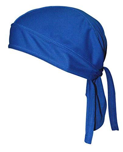 QING Sweat Wicking Beanie Cap Hat Chemo Cap Skull Cap for Men and Women (Navy 1 - Head Skull Cap