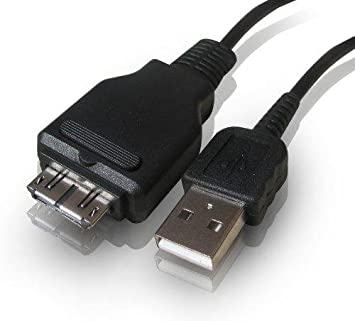 USB Plug para Sony CyberShot dsc-w210 Cable de cargacable de datos