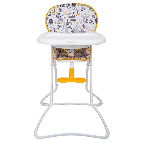 Graco Snack N' Stow Compact Highchair ABC