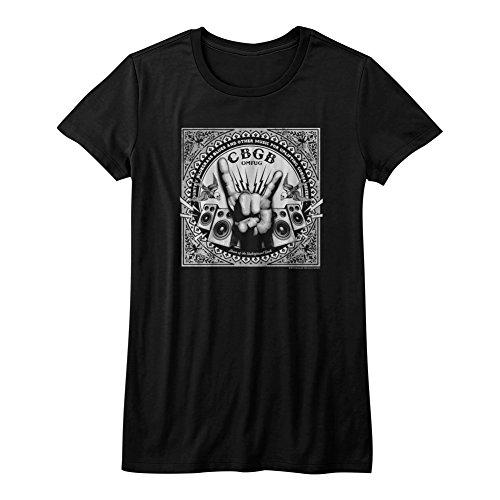 Rock'n'roll Garçon Classics Cbgb American Nyc Mains Omfug Rock Tee shirt Musique 1973 Pour g0qpF7wq